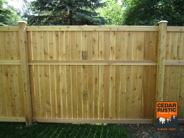 6u0027 traditional cedar fence