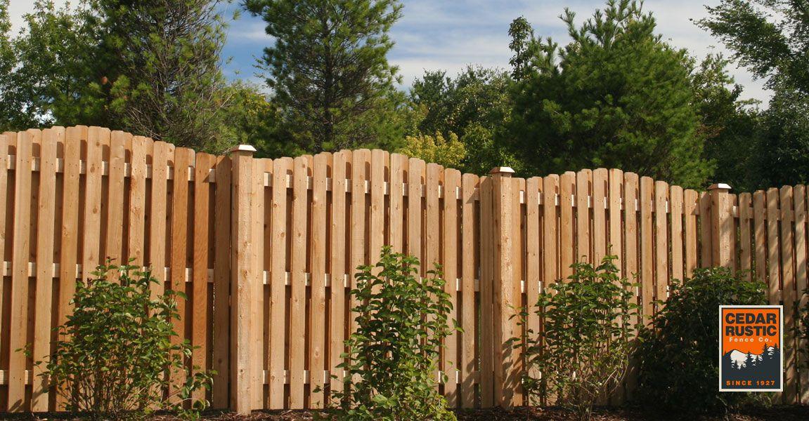 Rolling Arch Shadow Board Cedar Rustic Fence Co