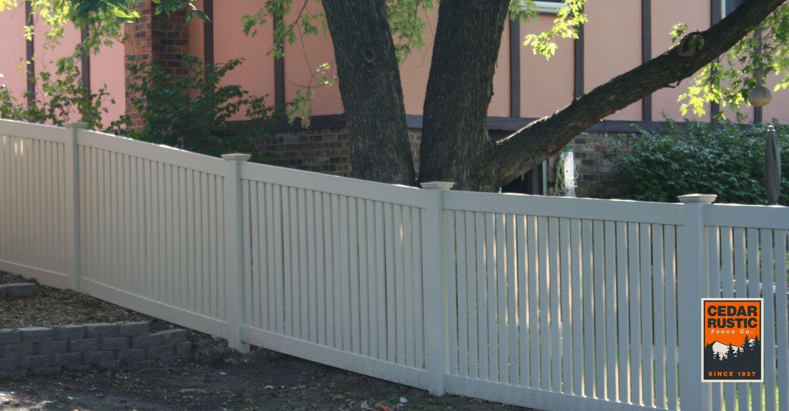 Racked 4 Manor I Semi Privacy Cedar Rustic Fence Co