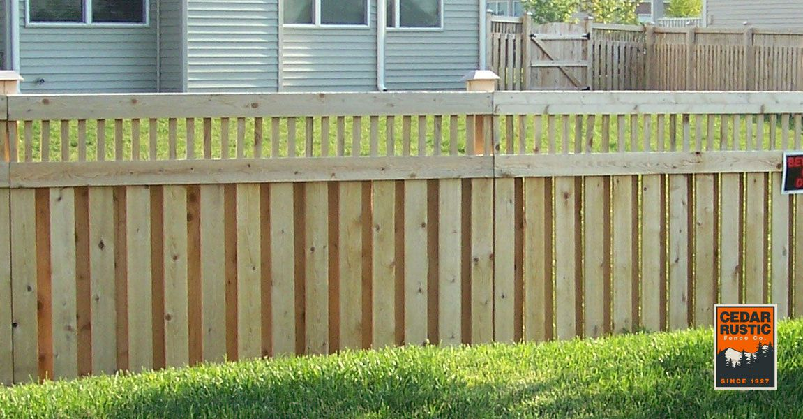 Hampton Ii Cedar Shadow Board Cedar Rustic Fence Co
