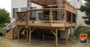 21 Cedar Rustic Fence Co